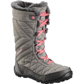 Columbia Minx Mid III WP Omni-Heat Boots Kinder stratus/camellia rose